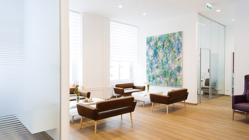 Surgery, waiting room 2 - Fertility clinic Dr. med Brunbauer, 1010 Vienna